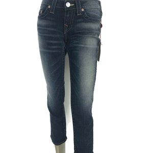 True Religion Brand Lizzy Straight Leg CropJean 29